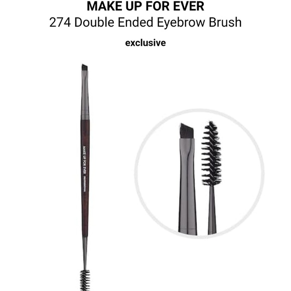Makeup Forever Makeup Mufe 274 Double Ended Eyebrow Brush Poshmark